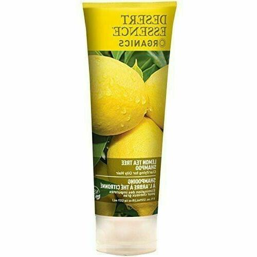 Desert Essence Shampoo Lemon Tea Tree - 8 fl oz