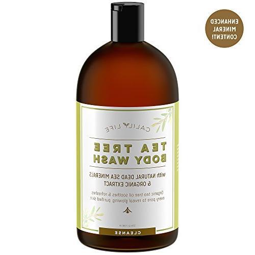 Calily Tree Oil Wash Sea Minerals, Oz. – Pure Oils & Fungal