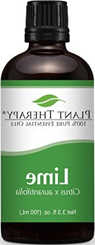 Plant Therapy Lime Essential Oil 100 mL  100% Pure, Undilute