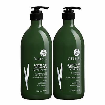 Luseta Tea Tree & Argan Hair Set Natural Formula