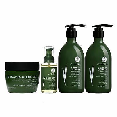 Luseta Argan Hair Care Set Natural Sulfate Free Formula