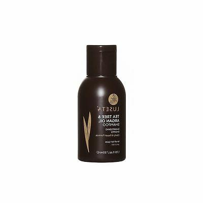 Luseta Tea Tree & Argan Shampoo Oily Scalp Hair Free