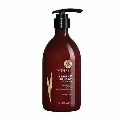 luseta tea tree and argan oil shampoo