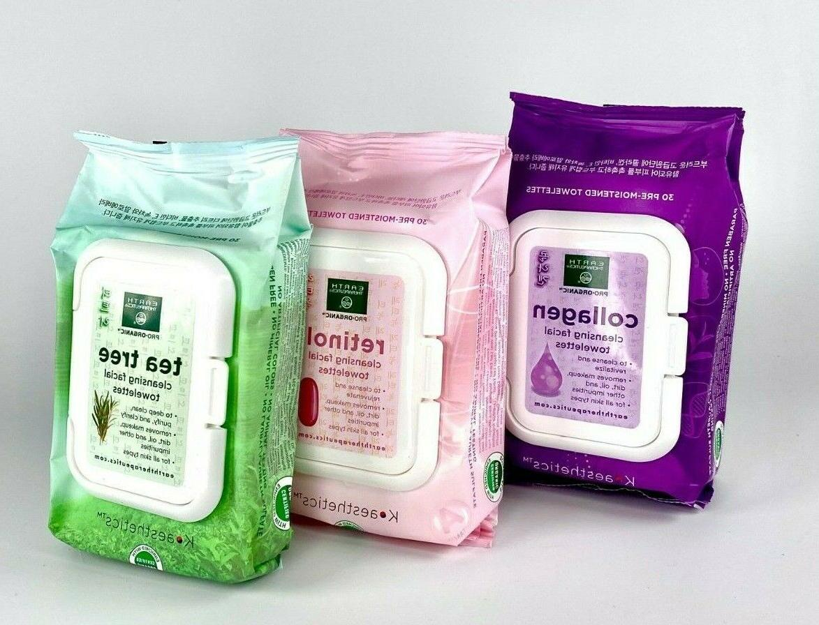 makeup remover cleansing facial towelettes wipes tissues