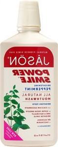 Mouthwash-Powersmile Jason Natural Cosmetics, Peppermint, 16
