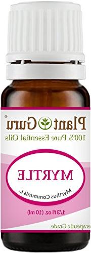 Myrtle Essential Oil 10 ml. 100% Pure Undiluted Therapeutic