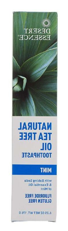 Natural Tea Tree Oil Mint Toothpaste - 6.25 oz