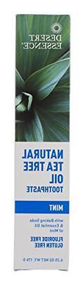Natural Tea Tree Oil Mint Toothpaste2pk- 6.25 oz