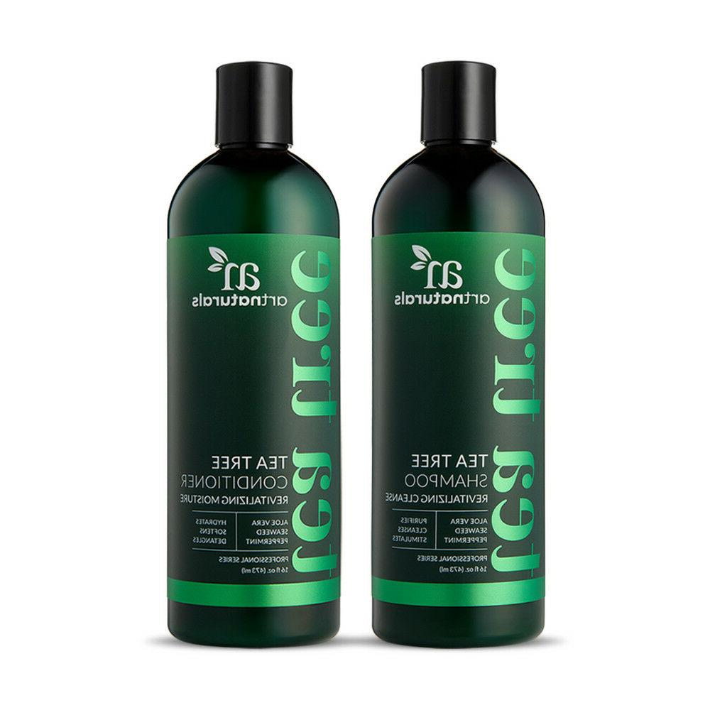 natural tea tree shampoo and conditioner duo