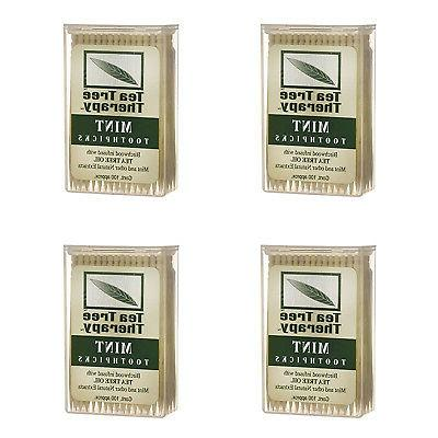 new menthol toothpicks 100 count 4 pack