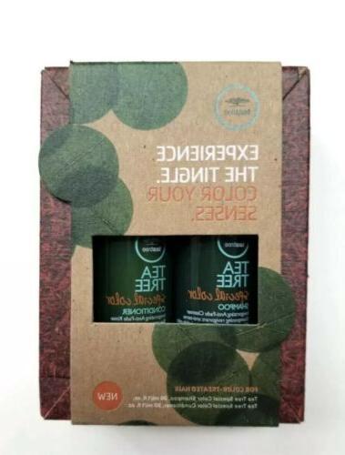 new tea tree color your senses shampoo