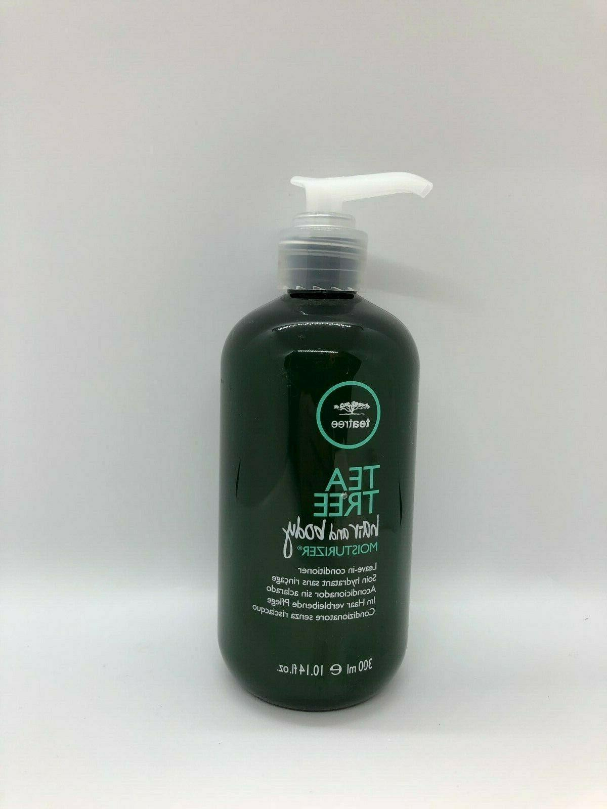 new tea tree hair and body moisturizer