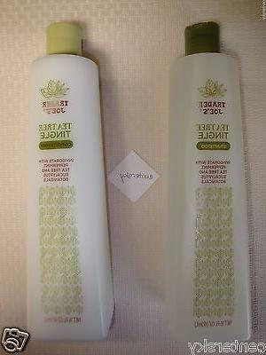 New Trader Joe's Organic Tea Tree Tingle Shampoo and Conditi