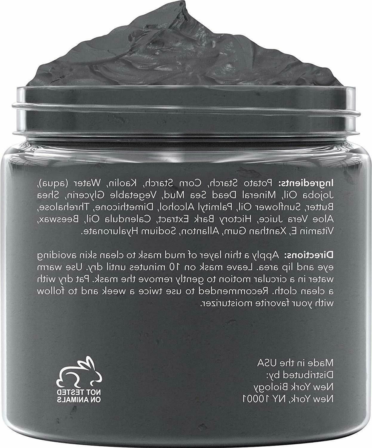 New Biology Sea Mud for Face and All Natural Quality