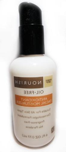 nourish oil antioxidant facial moisturizer