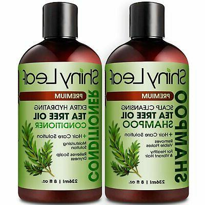 oil shampoo and conditioner set natural anti