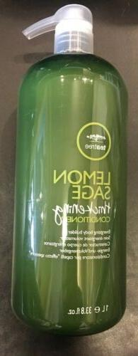 One  Paul Mitchell Tea tree Lemon Sage Conditioner 33.8oz Ea