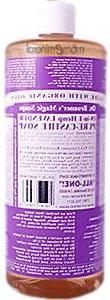 organic castile liquid soap lavender