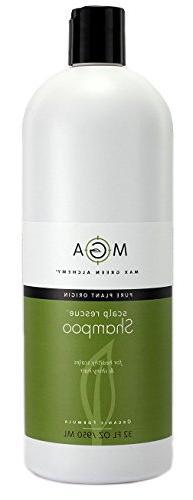 Max Green Alchemy Organic Formula Scalp Rescue Shampoo Refil