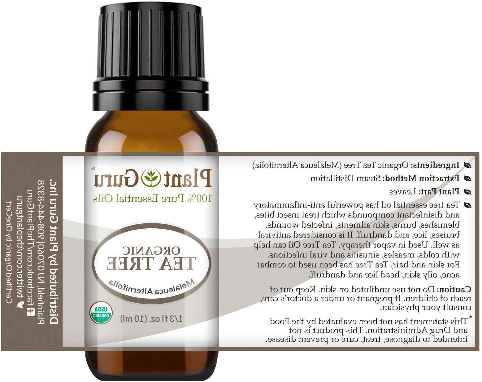 Organic Oil Certified Grade Pure