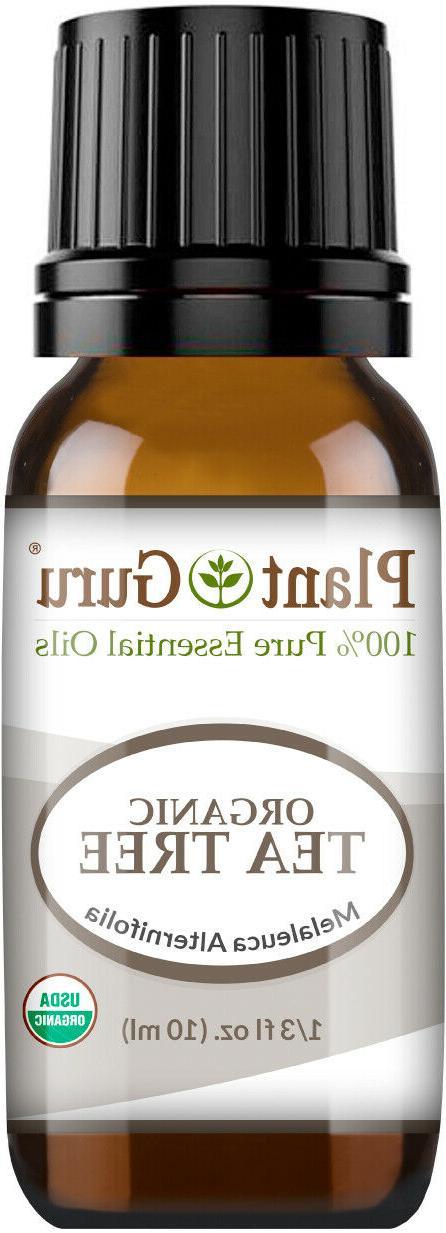 Organic Tea Tree Essential Certified 100% Pure