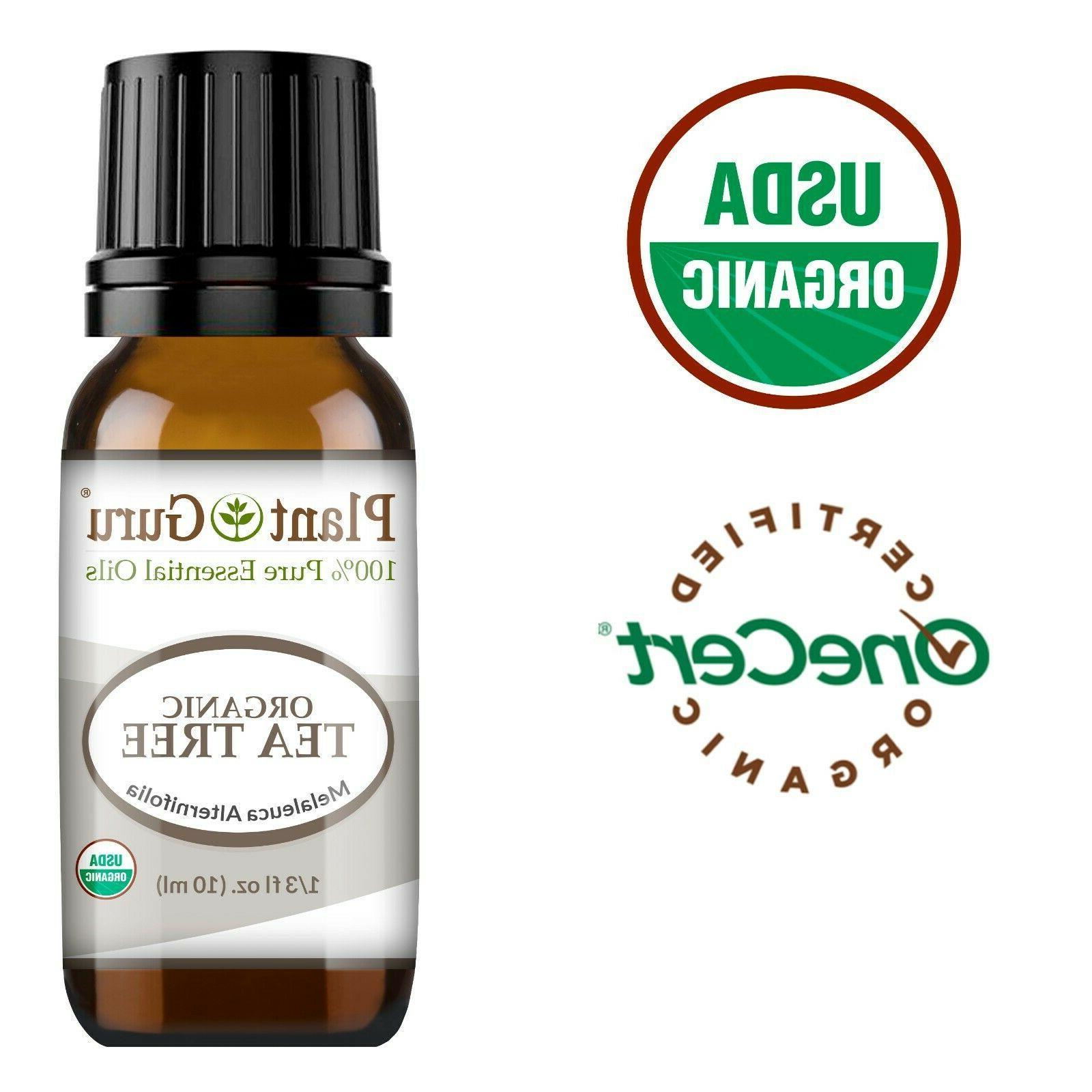 organic tea tree essential oil 10 ml