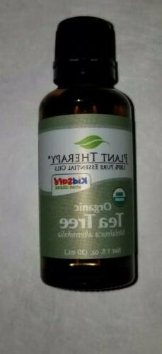 Plant Therapy Organic Tea Tree  Essential Oil 100% Pure 30 m