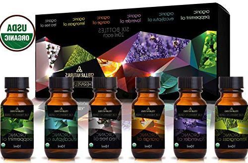 organic usda aromatherapy set lavender