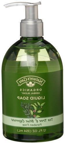Nature's Gate Organics Liquid Hand Soap, Tea Tree & Blue Cyp