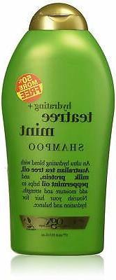 OGX Organix Shampoo Tea Tree Mint 19.5oz Bonus Hydrating