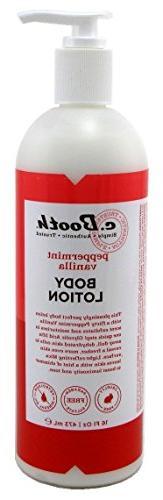 c.Booth Peppermint Vanilla Body Lotion, 16 Fluid Ounce