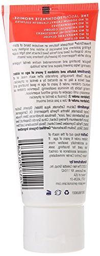 JASON Travel Toothpaste, 3 Ounce Tube