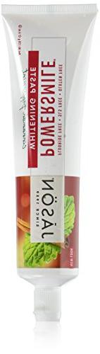 JASON Cinnamon Mint PowerSmile Whitening Toothpaste, 6 Ounce