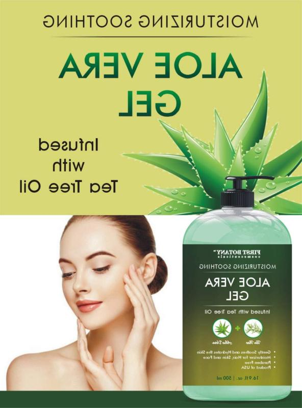 Gel Tea Oil Soothing Moisturizer Eczema