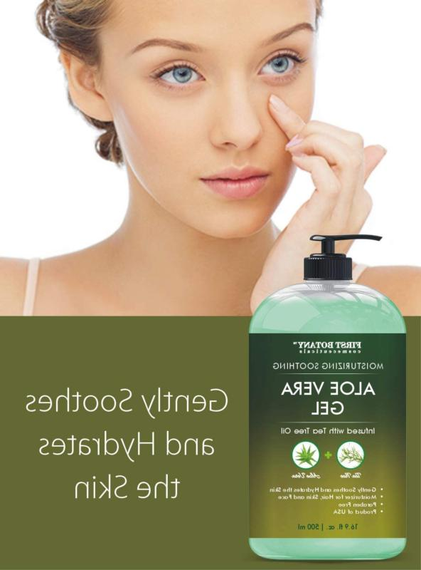 Pure Gel w Tree Oil Soothing Moisturizer Eczema oz