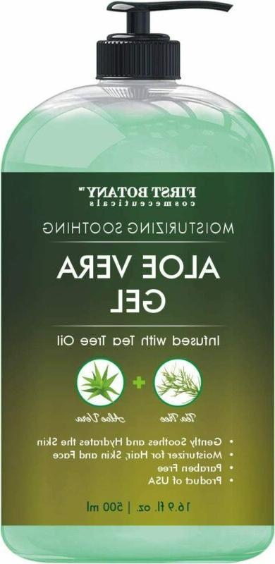 pure organic aloe vera gel w tea