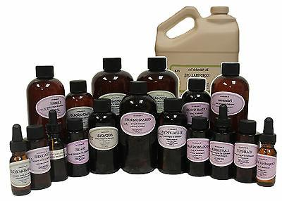 PURE ORGANIC TEA TREE ESSENTIAL OIL AROMATHERAPY FROM 0.6 OZ