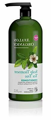 Scalp Treatment Tea Tree Conditioner Soothes Irritation & Le
