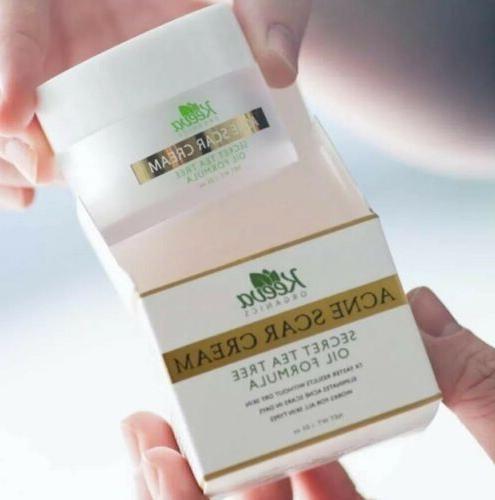 Keeva Organics Acne Cream Tea Scars EX Strength For