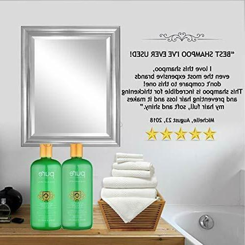 Tea Tree Oil Shampoo & Conditioner Hair Growth Jojoba Aloe