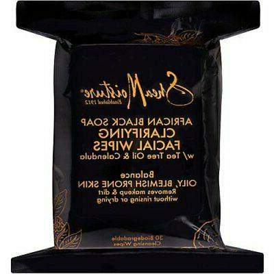 SheaMoisture African Black Soap Cleansing Facial Wipes