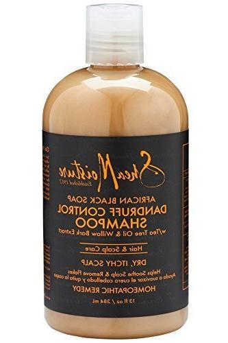 sheamoisture african black soap dandruff