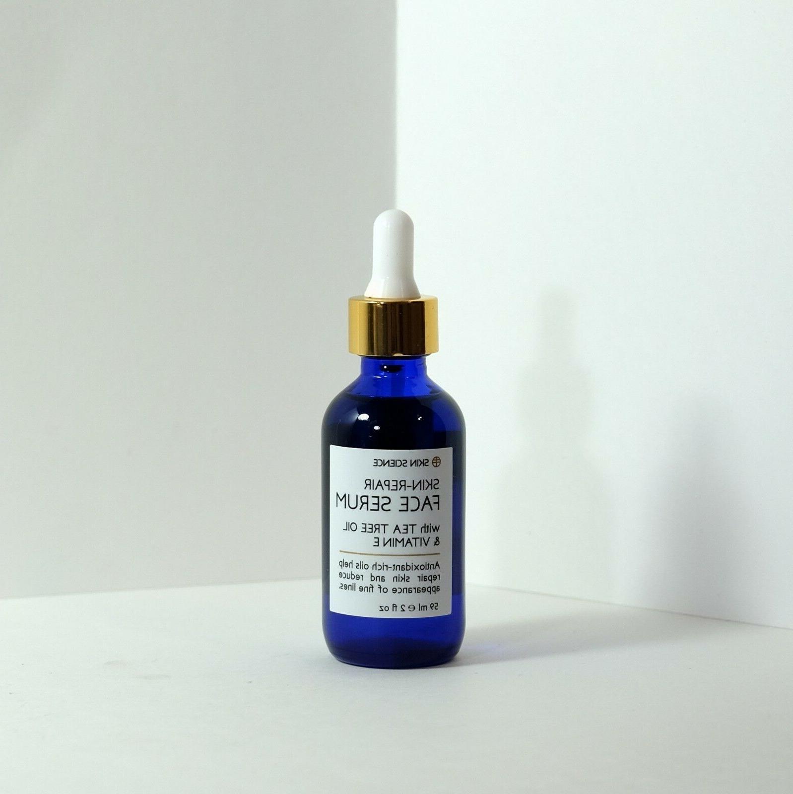 skin repair face serum with tea tree