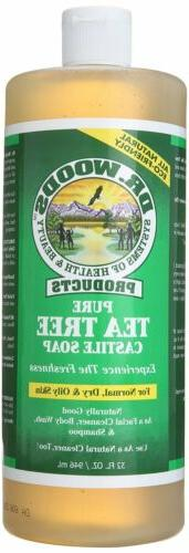 Dr. Pure Tea Tree with Organic Butter, 32 Ounce