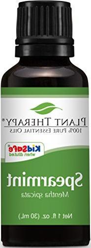 Plant Therapy Spearmint Essential Oil 30 mL  100% Pure, Undi