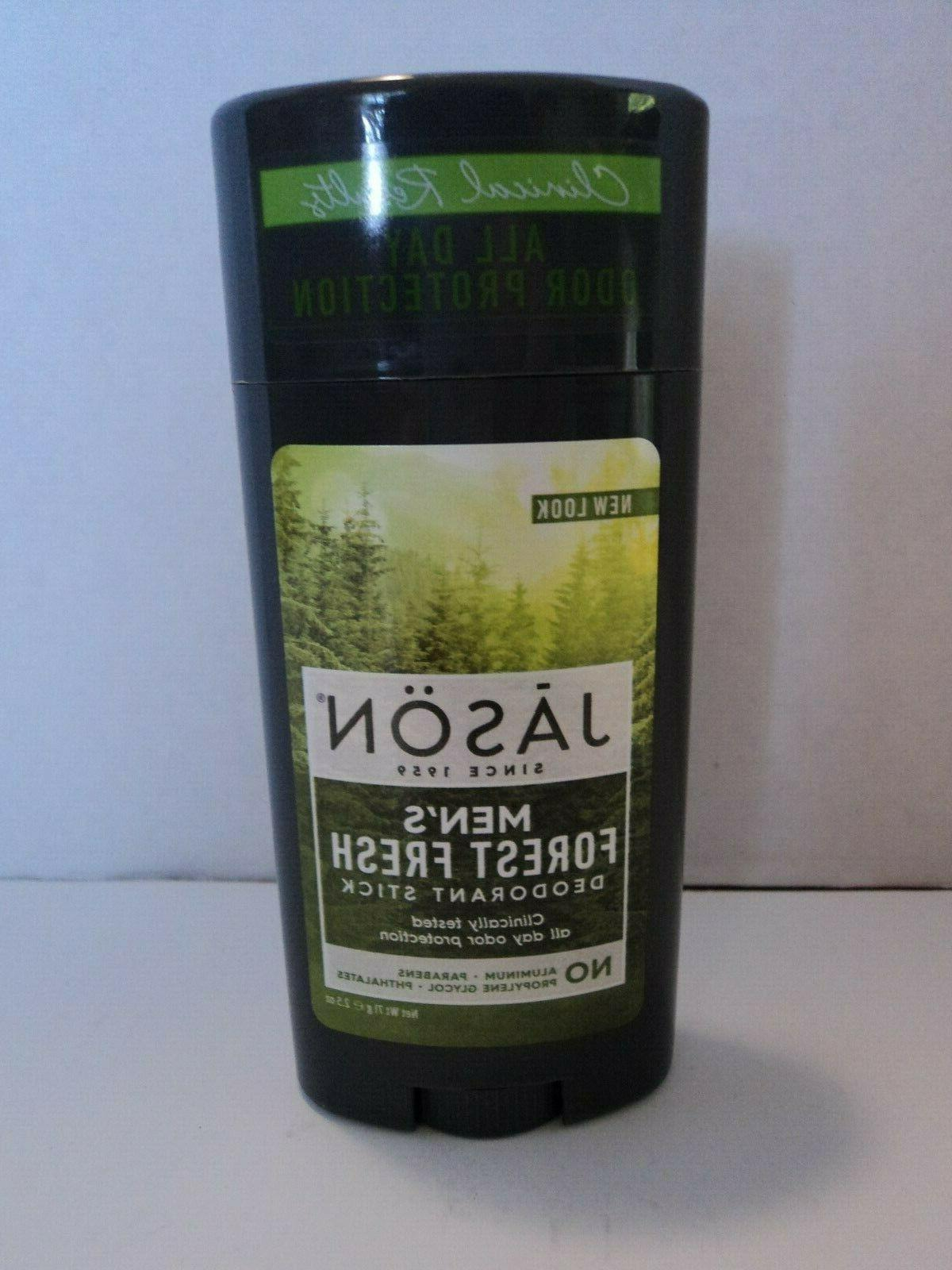 JASON Natural Products - Men's Deodorant Stick Forest Fresh