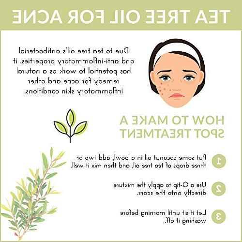 "ArtNaturals Tea Tree - Melaleuca Therapeutic Grade with Shampoo, Face and Wash - for Lice"""