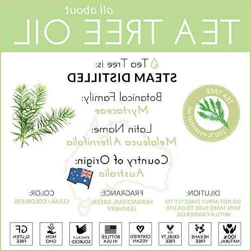"""ArtNaturals 100% Pure Tree - - Natural Premium Melaleuca with Soap and Shampoo, Face and Wash - Treatment for Lice"""""""