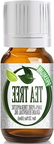 Tea Tree 100% Pure, Best Therapeutic Grade Essential Oil - 1