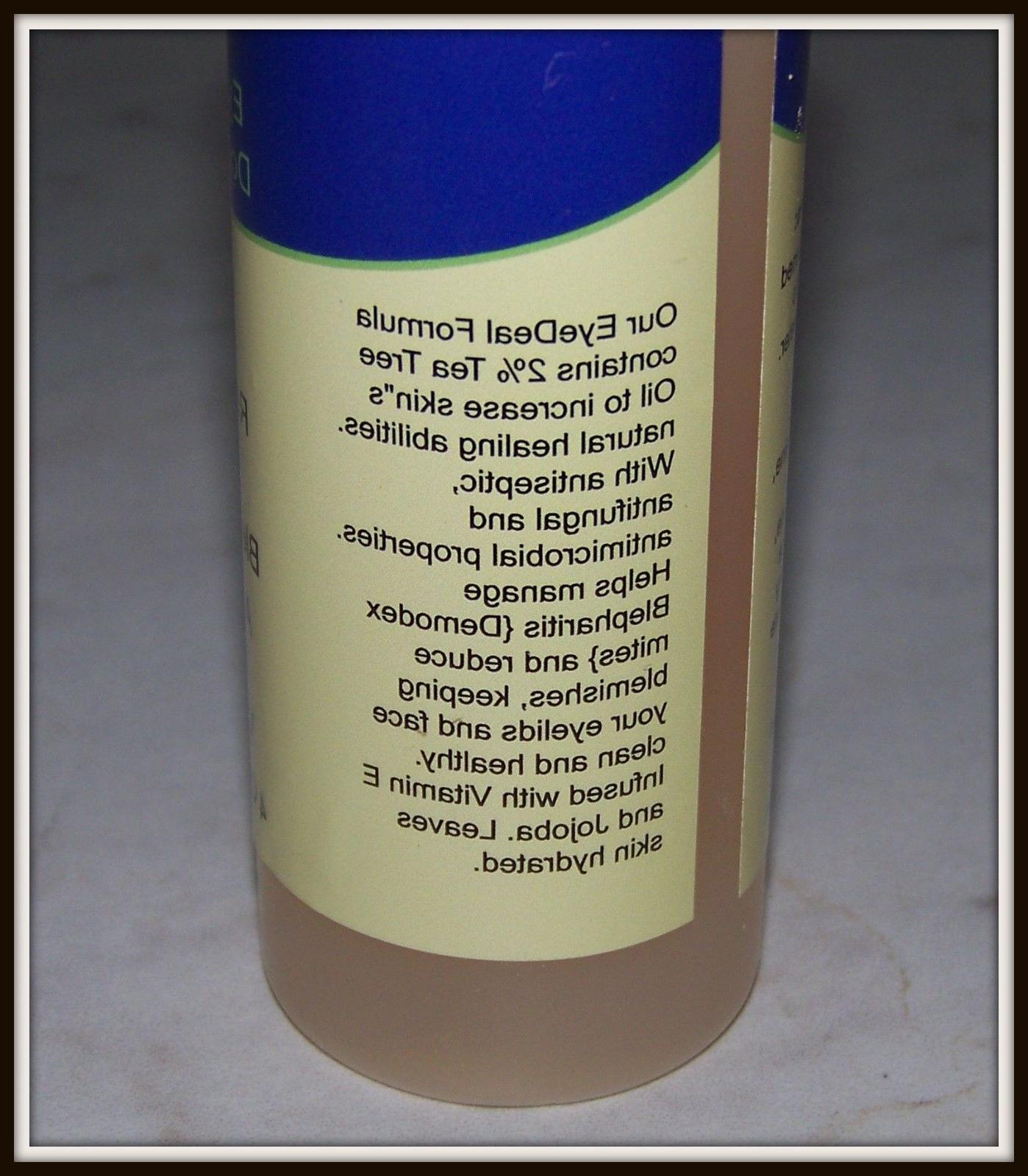 Tea Tree Eyelid Face Cleanser Wash